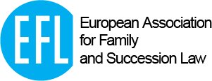 E.F.L. – European Association for Family and Succession Law